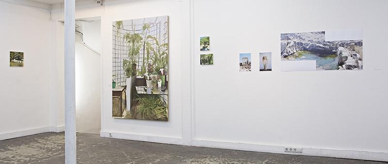 Vue de l'exposition Assemblage #1, Ofr Gallery Paris