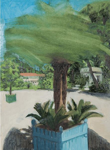 Yann Lacroix, sans titre, 2o15, huile sur toile 18 x 24 cm