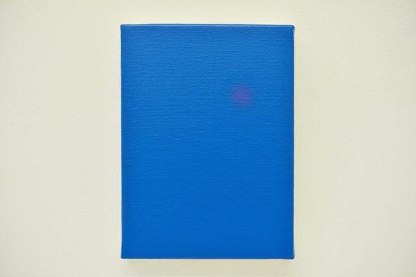 Ivan Fayard, IF#S29 (Émilie), acrylique sur toile, 22 × 16 cm, 2015 © Ivan Fayard/Adagp, Paris, 2016 Courtoisie de l'artiste & Galerie Houg, Paris
