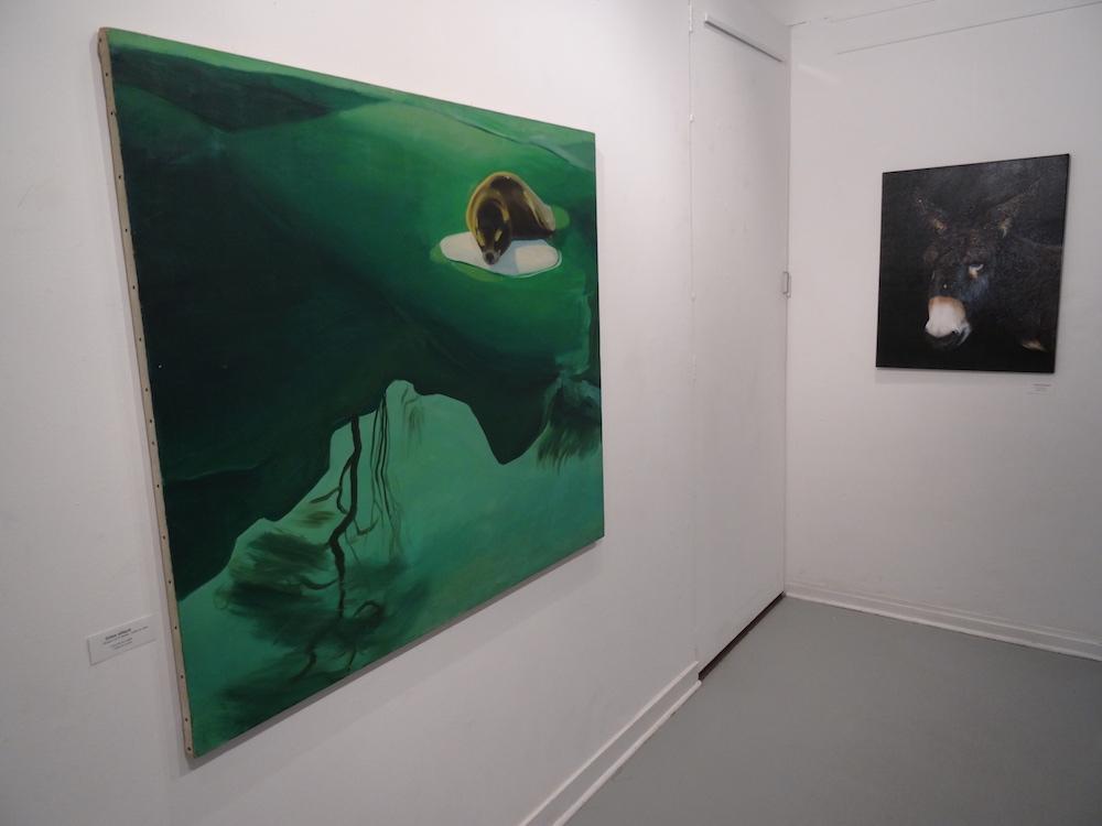 Gilles Aillaud et Thomas Lévy-Lasne, Who's afraid of Wild ? Hommage à Gilles Aillaud, Galerie Detais.