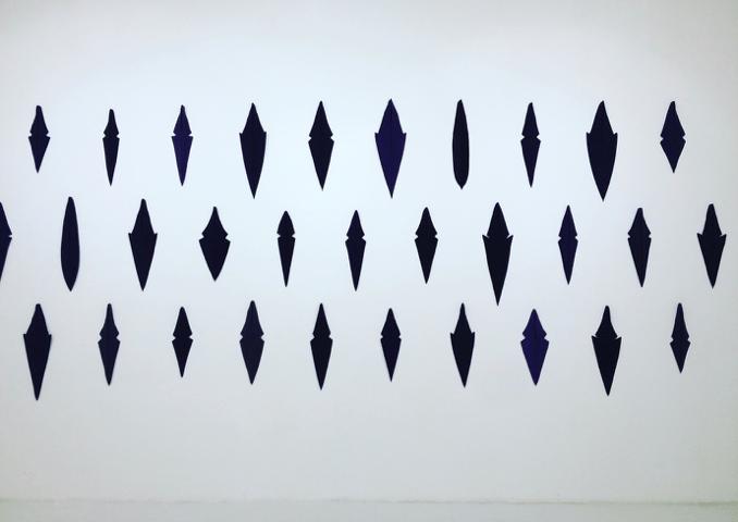 Retour de Biennale Méditerranéa 17 - Château de Servières - Floryan Varennes, série «Hiérarques», 2016