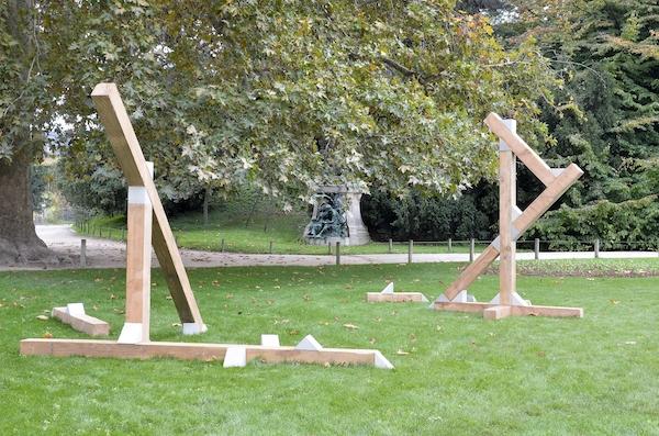 Benjamin Sabatier - Structure I, 2015 © Catherine Ficaja