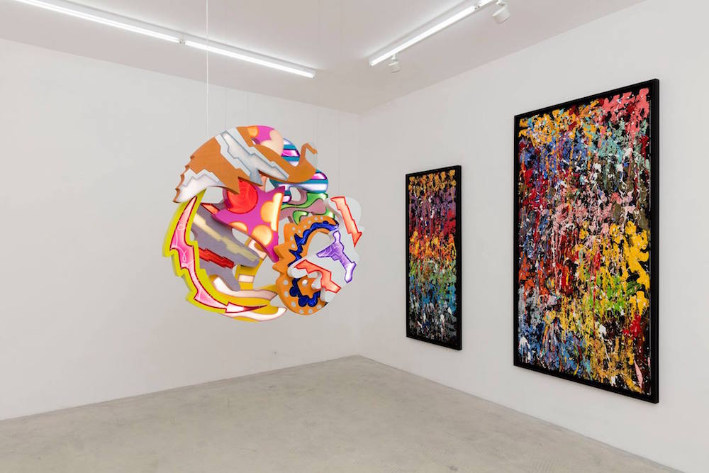 JonOne – Fire on Water – Galerie Rabouan Moussion