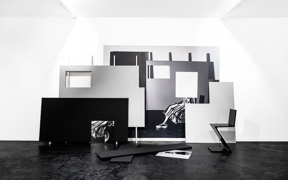 Quentin Lefranc - Arrangement en noir et gris : continuation - Tom Greyhound concept store Paris