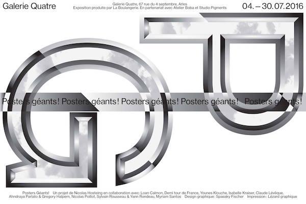 [AGENDA] Posters géants ! – Galerie Quatre – Arles