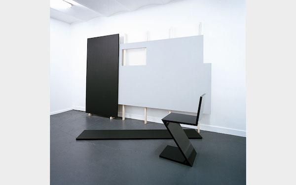 Exposition « Arrangement en noir et gris » – Quentin LEFRANC 19 janvier – 12 mars 2013 - Galerie Metropolis