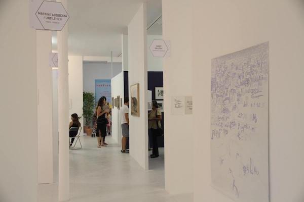 Salon international du dessin contemporain - PARÉIDOLIE - Vue d'exposition 2015 - Jean-Christophe Lett ©