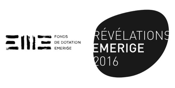 exposition collective de la troisième édition de la Bourse Révélations Emerige