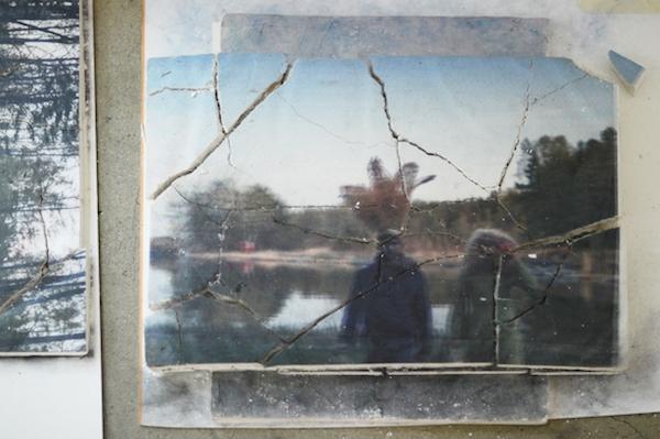 Petrel I Roumagnac (duo), de rêves, acte II, cour, 2016 Vue d'exposition, Galerie Escougnou-Cetraro