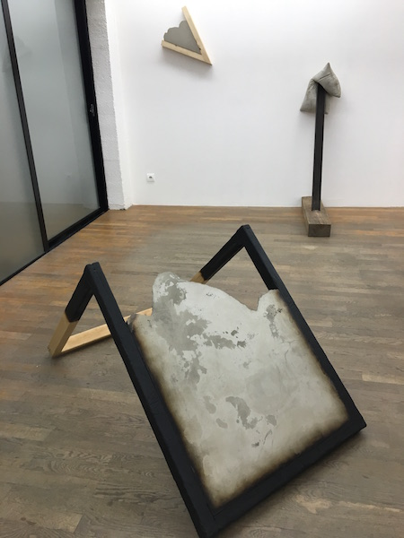 Benjamin Sabatier / Galerie Bertrand Grimont - Vue de l'exposition Session #1Instantanés - Backslash