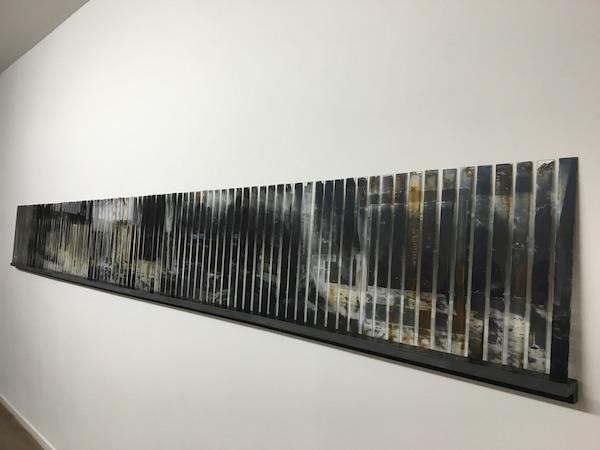 Pia Rondé & Fabien Saleil / Galerie Escougnou-Cetraro - Vue de l'exposition Session #1Instantanés - Backslash