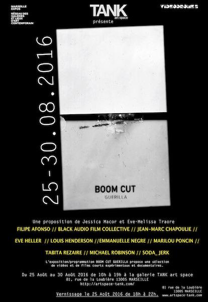 [AGENDA] BOOM CUT Guerilla – TANK Art Space – Marseille