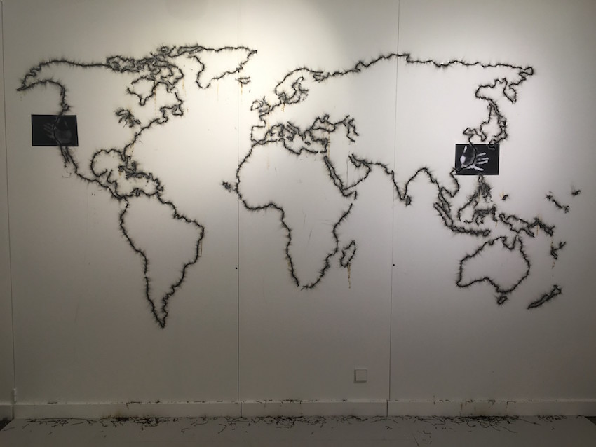 Mircea Cantor, Performance Map - Fondation Francès
