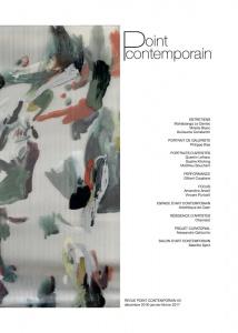 Revue Point contemporain #3 - Décembre 2016 - Janvier - Février 2017