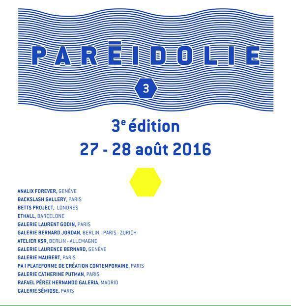 [AGENDA] PARÉIDOLIE Salon International du dessin contemporain – Marseille