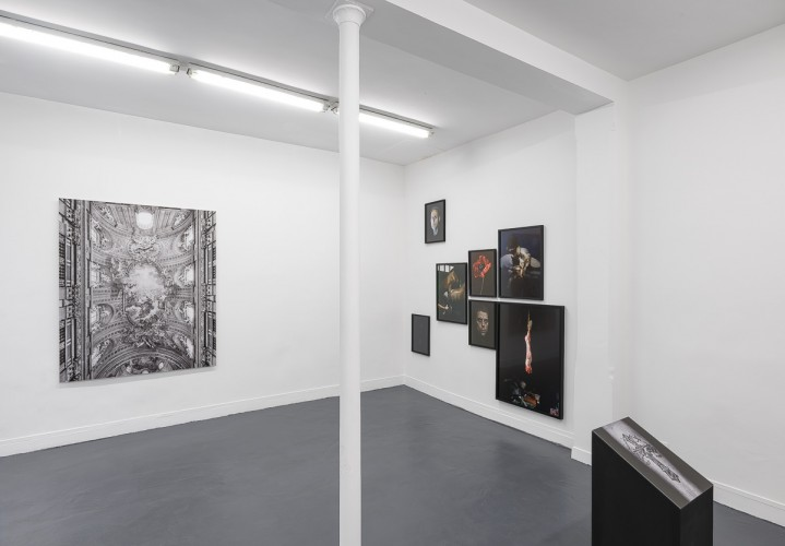 """""""CREDO"""" curated by Christian Egger - galerie C, Neuchâtel - 2016 copyright Grégory Copitet"""
