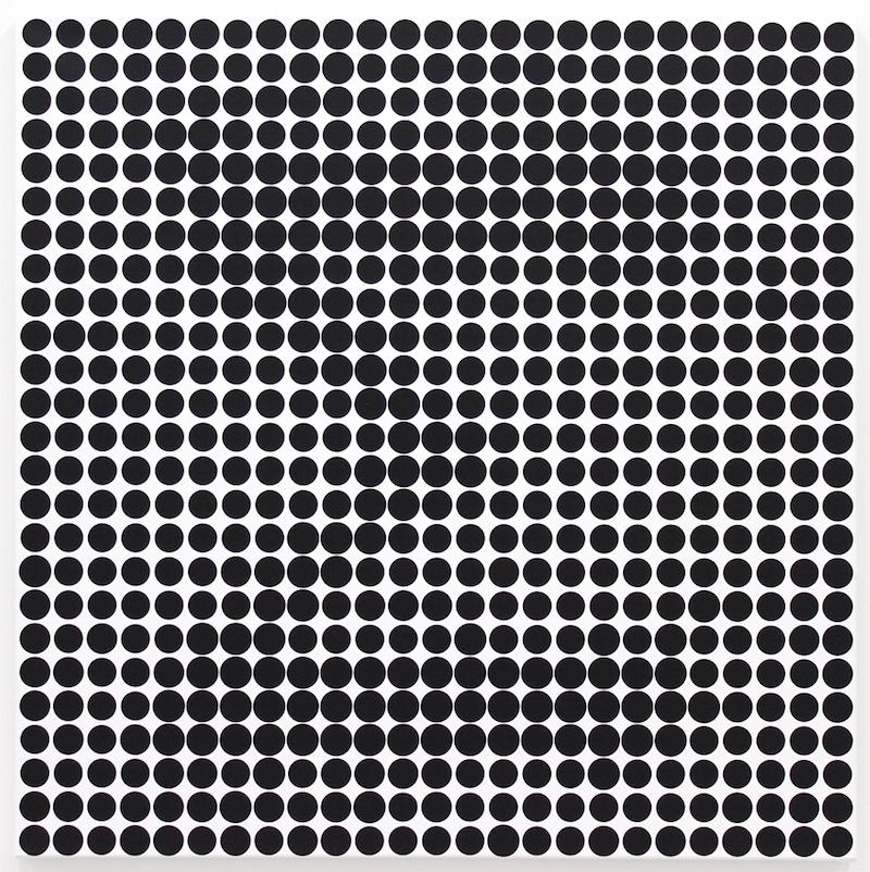 YIA ART FAIR #07 (Paris, Le Carreau du Temple). Rachel Morellet, Futur dream, 2016, Encre digitale, acrylique sur papier, 42 x 59,4 cm. Photo Credits : Rachel Morellet
