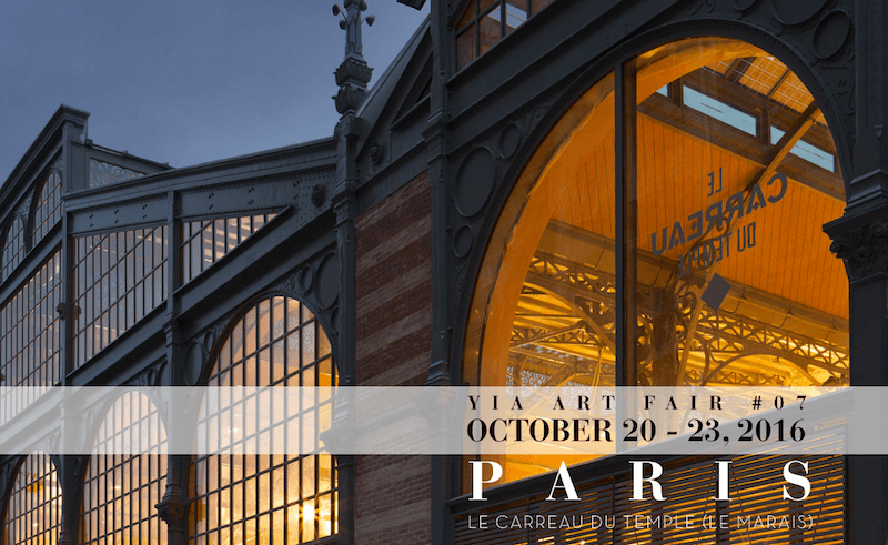 [AGENDA] YIA Art Fair #7 – Carreau du Temple – Paris