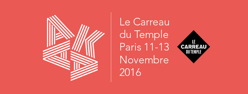 [AGENDA] 11→13.11 – AKAA – Foire d'art contemporain et de design – Carreau du Temple – Paris