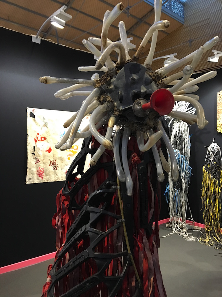 Terrence Musekiwa, Overseers (Catinca Tabacaru Gallery, NYC).