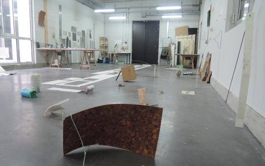 [ENTRETIEN] Victoire Barbot - Vue d'atelier - Astérides - Marseille