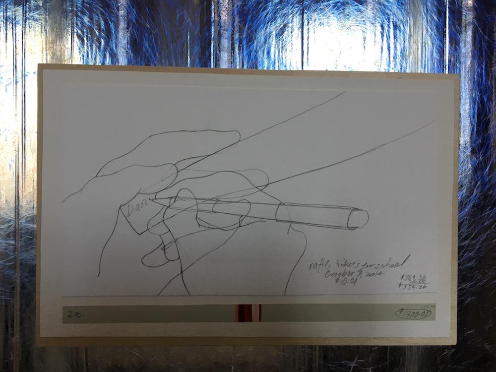 Danica Phelps, Income's outcome, Dessin et aquarelle sur papier, 1996-2016 - Courtesy Galerie Michael Sturm, Stuttgart