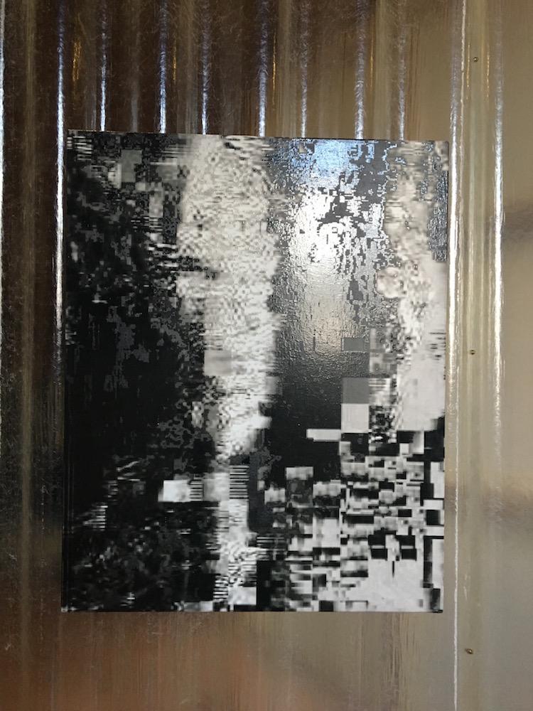 Konrad Wyrebek, MorMess, Huile, acrylique, spray et vernis sur toile, 2015