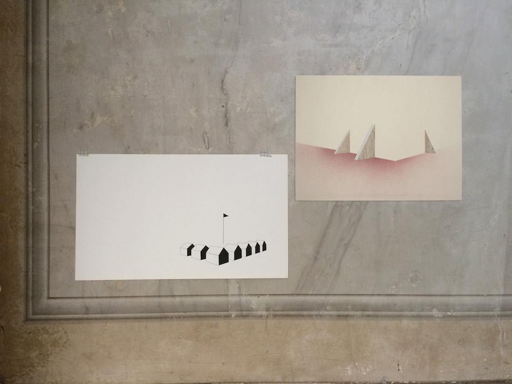 Vue d'exposition La condition Géographique, le Lieu minuscule, Reims