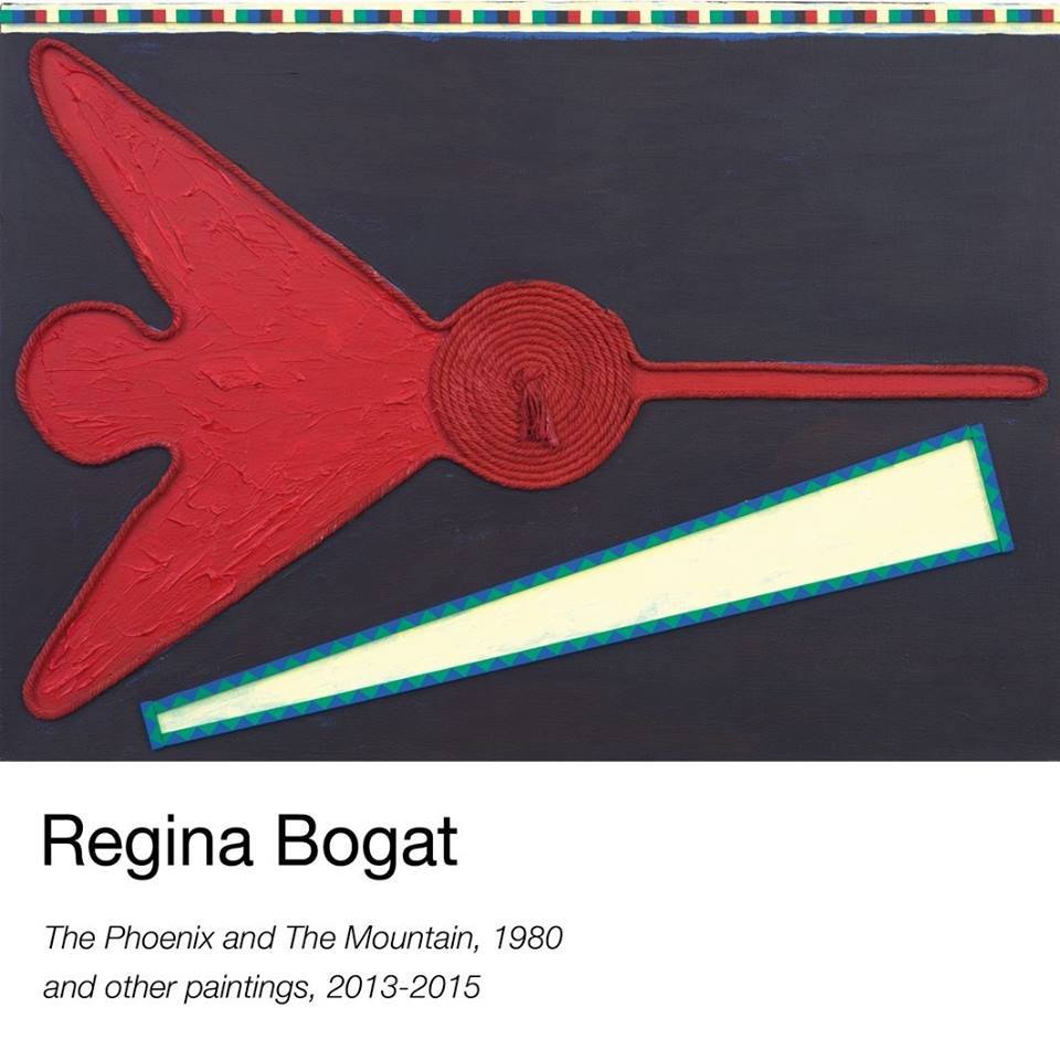 [AGENDA] 26.10→23.12 – REGINA BOGAT – the phoenix and the mountain (1980) and new paintings (2013-2015) – Galerie Zürcher Paris