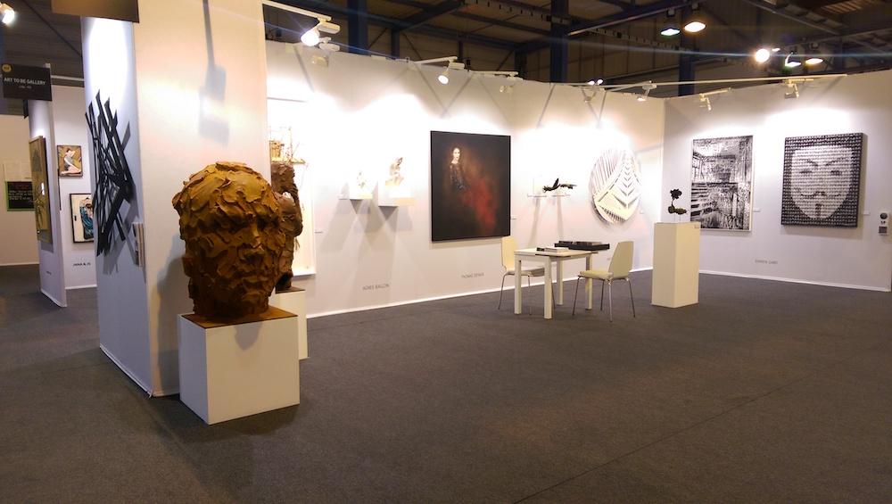 Vue de ST-ART 2016, Foire européenne d'art contemporain de Strasbourg