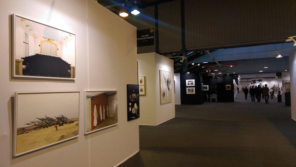 Vue de ST-ART 2016, Foire européenne d'art contemporain de Strasbourg - Stand de la Galerie Françoise Besson