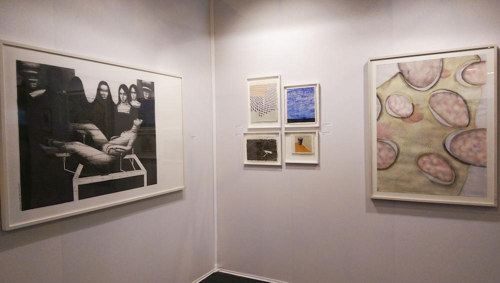 Vue de ST-ART 2016, Foire européenne d'art contemporain de Strasbourg - Stand de la Galerie Jean-François Kaiser
