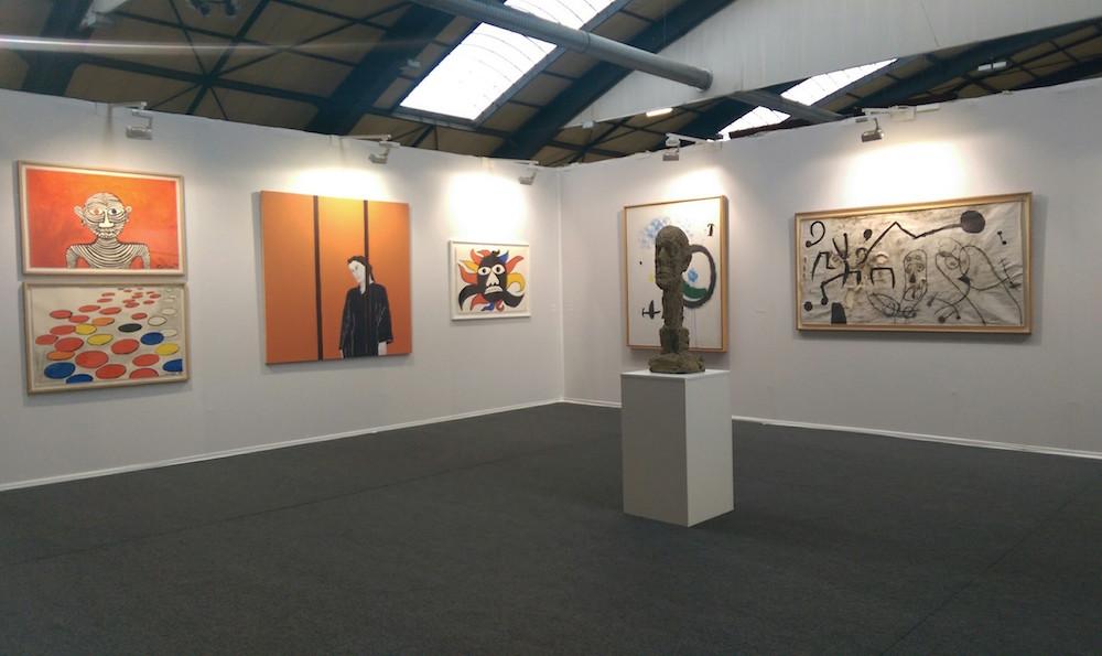 Vue de ST-ART 2016, Foire européenne d'art contemporain de Strasbourg - Fondation Maeght