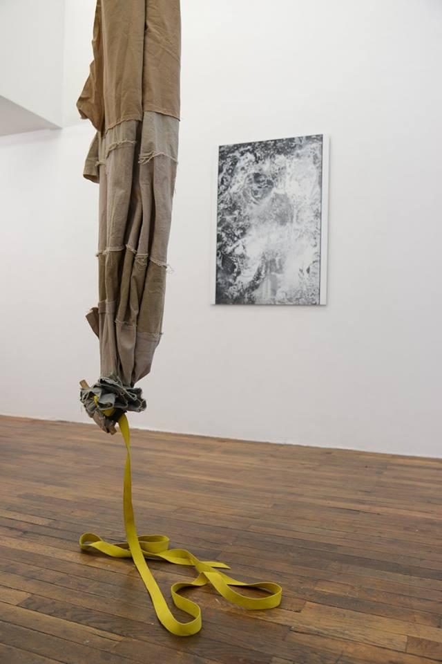 Adrien Vescovi, Sébastien Capouet - Vue d'exposition Théophile's Papers chez Néon - Photo : Anne Simonnot
