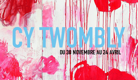 [AGENDA] 30.11→24.04 - CY TWOMBLY - Rétrospective - Centre Pompidou Paris