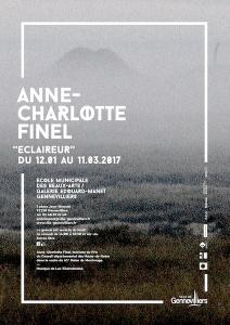 [AGENDA] 11.01→11.03 - Anne-Charlotte Finel - Éclaireur - École municipale des Beaux-arts Galerie Édouard-Manet Gennevilliers