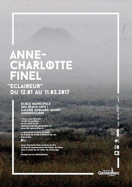 [AGENDA] 11.01→25.03 – Anne-Charlotte Finel – Éclaireur – École municipale des Beaux-arts Galerie Édouard-Manet Gennevilliers