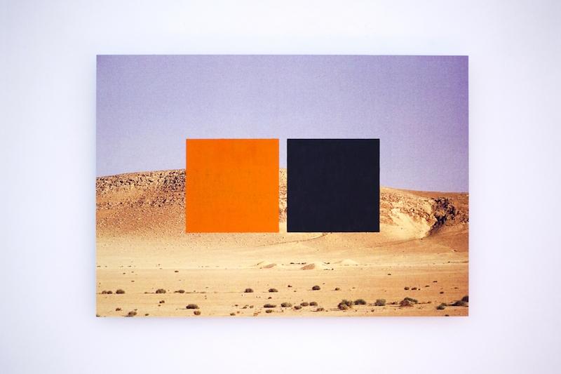Landscape, vernis, impression fine art sur papier coton 35x26 cm