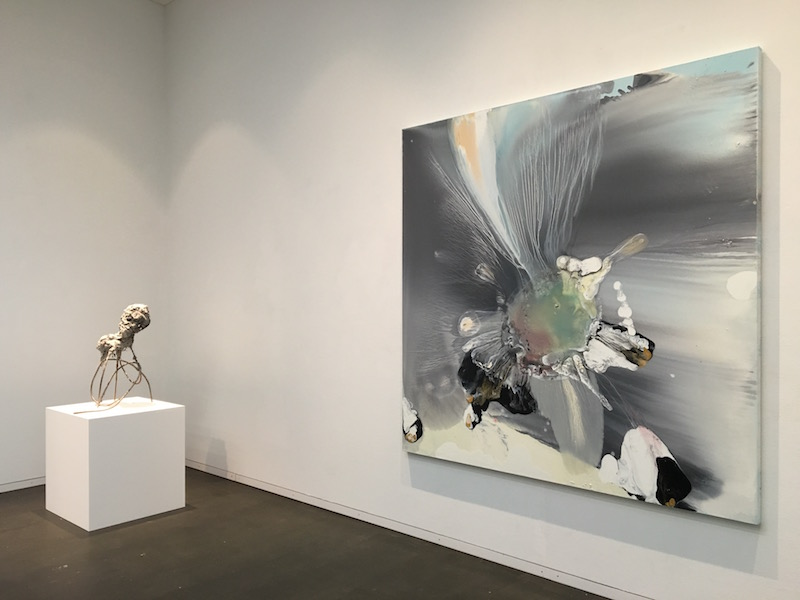 Lionel Sabatté, Physical attraction, Galerie C Neuchâtel. Photo : Point contemporain