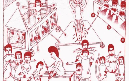 [AGENDA] 28.01→25.02 - Marilena Pelosi - Catharsis - Galerie Christian Bert art brut Paris