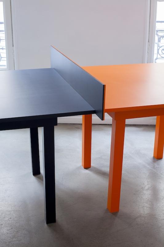 One Plus One, vernis, bois, 100x75x200 cm