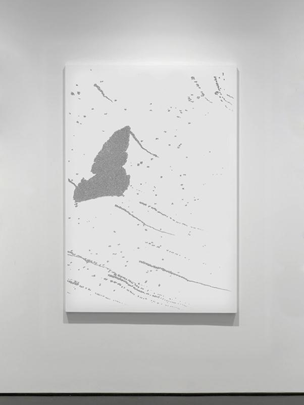 Trillions, 2016, impression directe sur plexiglass, 90x150 cm