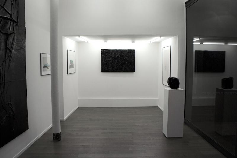 Vue de l'exposition Amourir au Togu Art Club Marseille