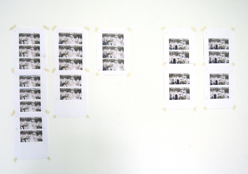 Vue de l'atelier Astérides occupé par Mathilde Geldhof, août 2016. © Laëtitia Toulout