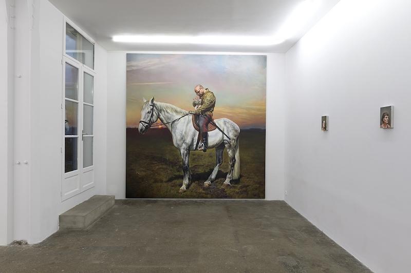 [EN DIRECT] Axel Pahlavi, Peindre dans tes yeux, Galerie Eva Hober Paris