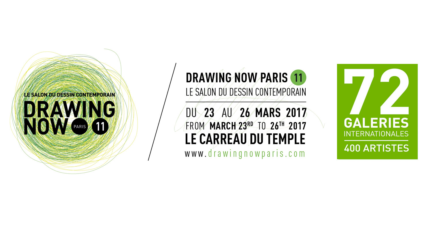 [PARTENARIAT] Drawing Now Paris ⎮ Le Salon du dessin contemporain - 11e édition