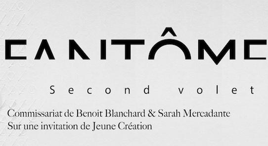 [AGENDA] 04.03→02.04 - FANTÔME (second volet) - Galerie Jeune CréationParis