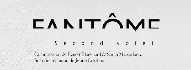 [AGENDA] 04.03→02.04 – FANTÔME (second volet) – Galerie Jeune CréationParis