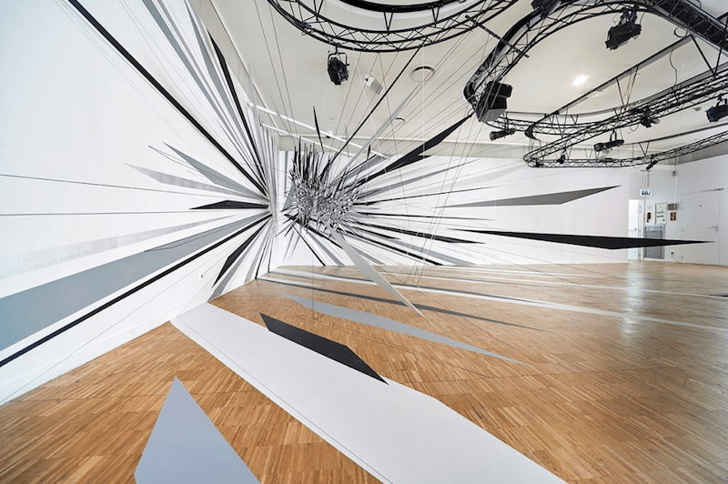 Thomas Canto, Illusory perspectives. Centre Pompidou Paris