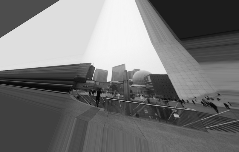 Pyramide Cyborg Paris Par Isthmaël Baudry